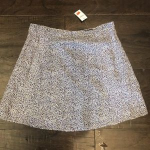 NWT Gap floral graphic print skirt 6